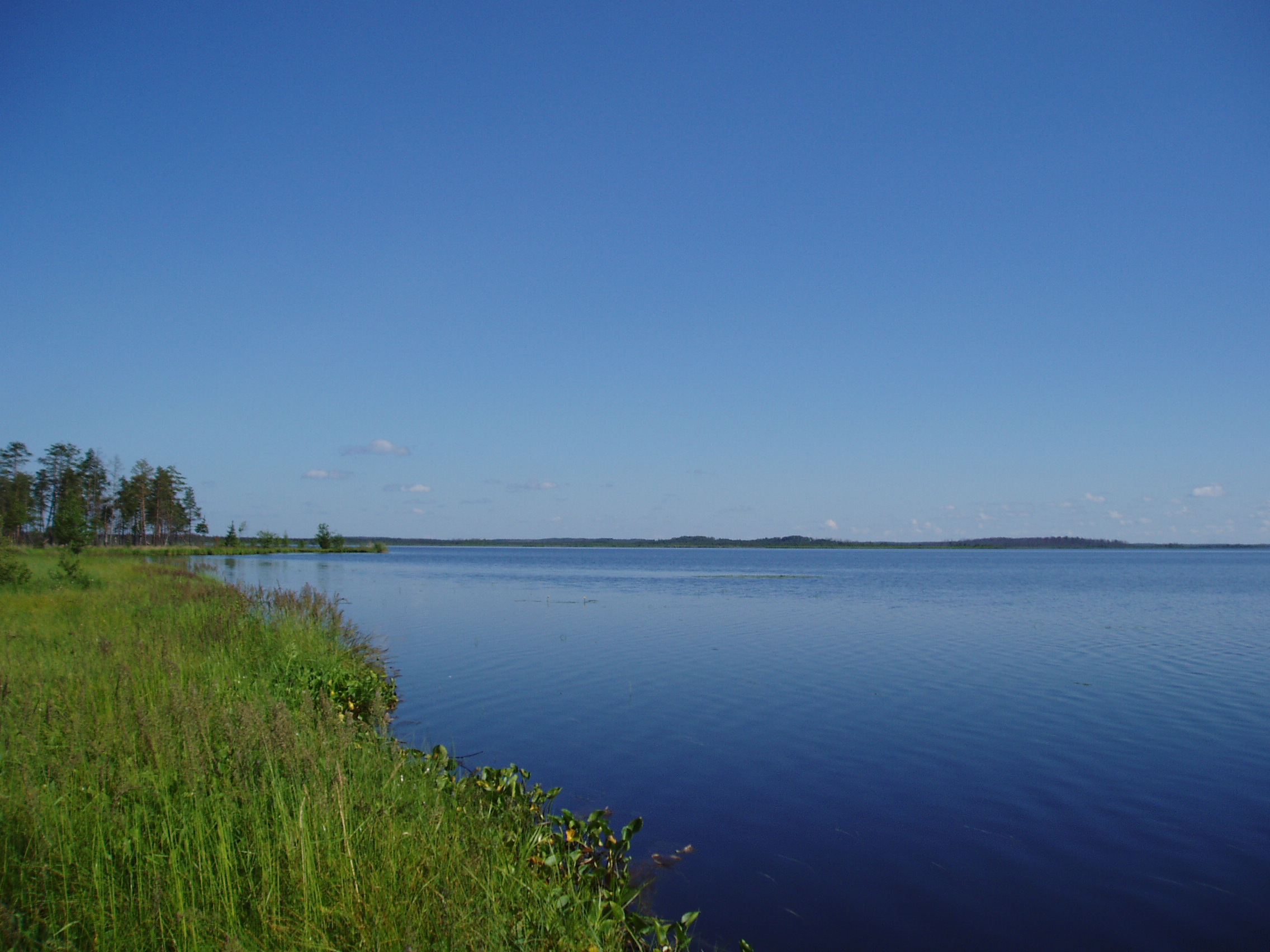 рыбалка на озере вялье